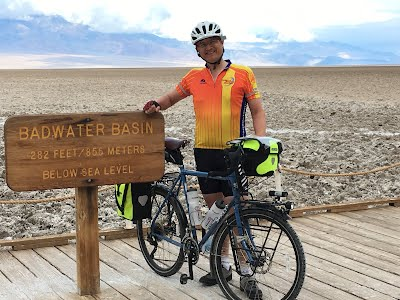 Tim at Badwater Basin